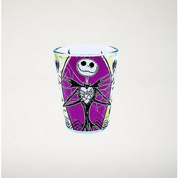 Nightmare Before Christmas Purple Web Shot Glass - Spencer's