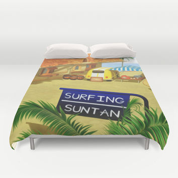 Costa Del Sol 3 Duvet Cover by Likelikes
