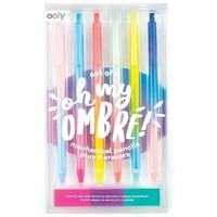 OOLY Oh My Ombre! Mechanical Pencils & Erasers