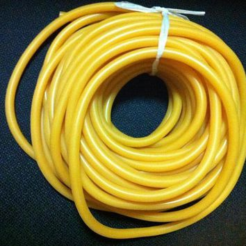 5 M Natural Latex Tubing Rubber Band 3x5mm Resilient Tube For Slingshot crossbow Catapult Stretch Elastic