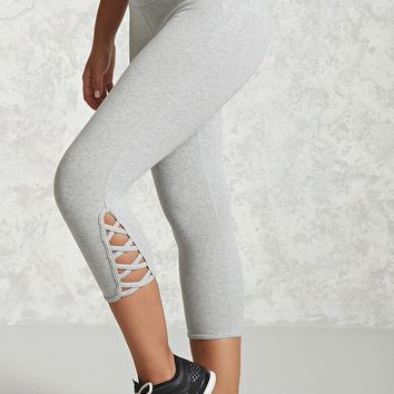 Active Heathered Capri Leggings