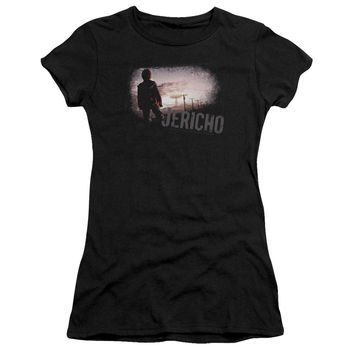 Jericho - Mushroom Cloud Premium Bella Junior Sheer Jersey Shirt Officially Licensed T-Shirt
