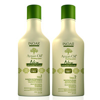INOAR ARGAN OIL SYSTEM HAIR STRAIGHTENING KERATIN TREATMENT 250ml (8.40z)