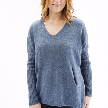 RD Style Starfield Blue Sweater