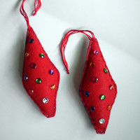 Christmas Ornaments - Set of Two