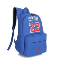 Jordan Letter Multi-Purpose Laptop Backpack Shoulder Bag Travel Bag