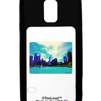 Chicago Skyline Watercolor Galaxy S5 Case  by TooLoud