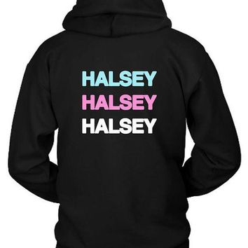 Halsey In Colors Hoodie Two Sided
