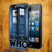 Doctor-Who-David Tennant -The Tardis Design On Hard Plastic Cover Case, IPhone 4,4S or IPhone 5 Case, Samsung Galaxy S2,S3 or S4 Case