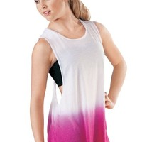 Dip-Dye Twist Back Tank Top - Balera