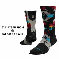 Stance | Santa Fe Black, Aqua, Red, Yellow, Grey socks | Buy at the Official website Main Website.