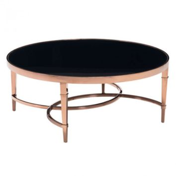 Elite Coffee Table | Rose Gold