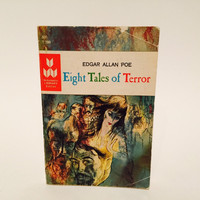 Eight Tales of Terror by Edgar Allan Poe 1965 Paperback Anthology