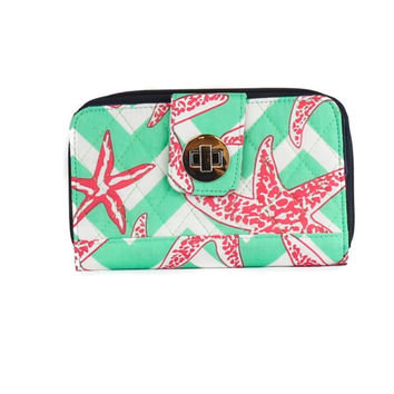 Simply Southern Starfish Large Wallet