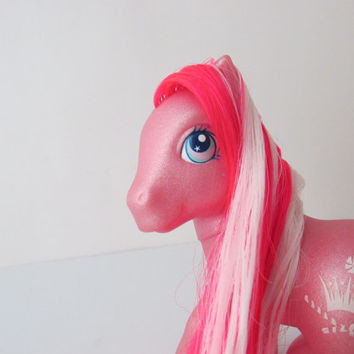 Princess Peppermint G3 My Little Pony Neon Red & White Hair