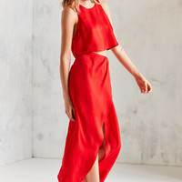 Silence + Noise Satin Shine Two-Piece Set | Urban Outfitters