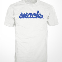 Snacks T-Shirt - tshirt mens womens gift, tee, eating, junk food, foodie, candy, graphic top, fresh, brand, cool, urban