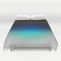 Blue Gray Ombre Duvet Cover by 2sweet4words Designs