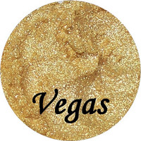 VEGAS Sparkle Gold Eyeshadow 3 Gram Jar Mineral Makeup