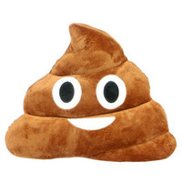 Poop Emoji Pillow Cushion