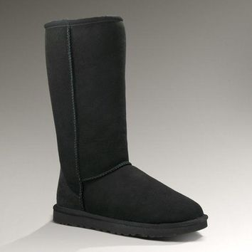 ESBON UGG 5815 Classic Tall Women Men Fashion Casual Wool Winter Snow Boots Black