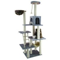 Armarkat Cat Tree Model A7802, Silver Gray