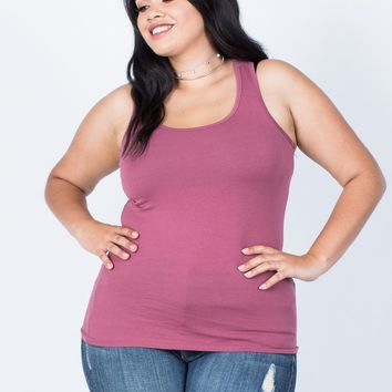 Plus Size Active Days Tank