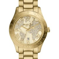 Michael Kors Women's Layton Gold-Tone Stainless Steel Bracelet Watch 44mm MK5959 | macys.com