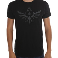 Nintendo The Legend Of Zelda Black Triforce T-Shirt