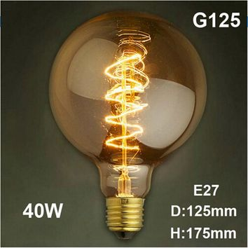 Lampada Edison Bulb Lamp Light Vintage Socket E27 Outdoor Lighting 40w Filament 220V Bulb DIY Rope Pendant Lamp Retro Luminaria