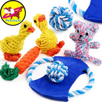 Dog Chew Toys - Various Items to Pick From (Durable Flying Discs, Knots, Rope Toy, etc.)