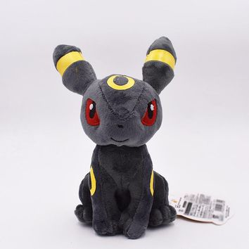 20cm Pikachu Series Eevee Umbreon Peluche Doll Soft Toy Classic Plush Toy Baby Christmas Gift Free Shipping