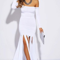 Fringed Maxi Dress - Preorder