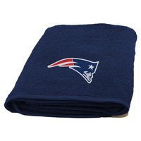 New England Patriots NFL Applique Bath Towel