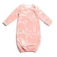 Baby Gown - The Farm Next Door Blush Pink
