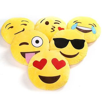 Emoji Pillow Collection, Emoticon