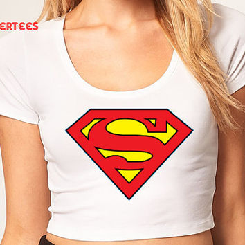 SuperWoman Crop Top- Hipster