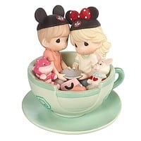 Disney Boy Girl It's a Tea-riffic Day to Be with You Figurine Precious Moments