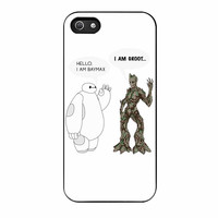 Hello I Baymax I Groot iPhone 5 Case