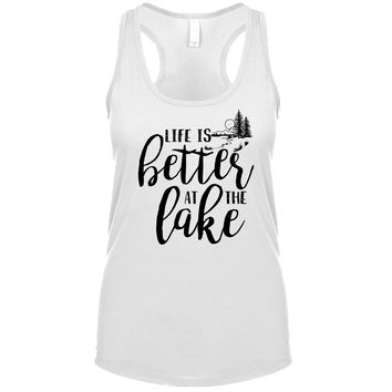 Life Is Better At The Lake Women's Tank
