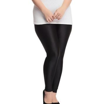 Shiny Slim Fashion Legging
