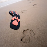 Unique Cartoon Cat/Cat Claws Beach Slippers