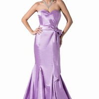 Dressystar Women's Satin Gown Long Party Dress