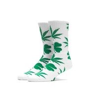 HUF | HUF ST. PATRICK'S DAY CREW SOCK // WHITE / GREEN