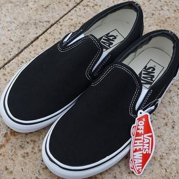 Trendsetter Vans Slip-On Old Skool Flat Sneakers Sport Shoes