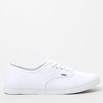 Vans Women's Authentic Lo Pro Canvas Sneakers at PacSun.com