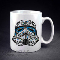 Star Wars Sugar Skull The Darth Vader Skull Personalized mug/cup