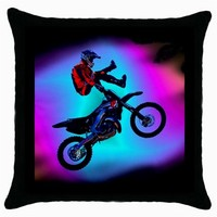 NEW* HOT MOTOCROSS JUMP QualityThrow Pillow Case Cushion Cover Gift