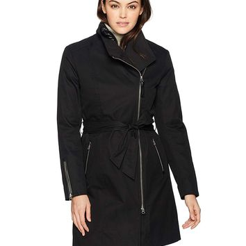 Mackage Women's Estela-d Long Sleeve Belted Trench Coat W/Removable Liner