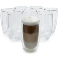 Zwilling J.A. Henckels Sorrento Double Wall Latte Glasses